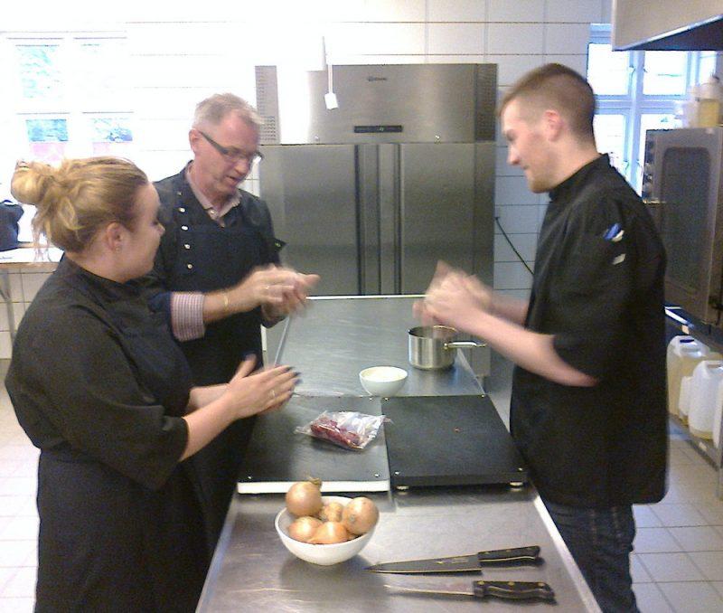 Blogfoto, in the kitchen